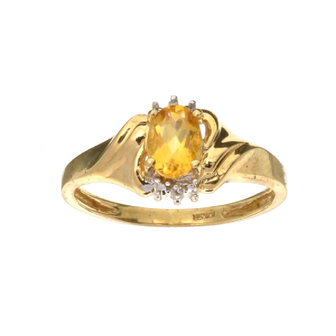 APP: 0.9k Fine Jewelry 10kt. Yellow/White Gold, 0.75CT