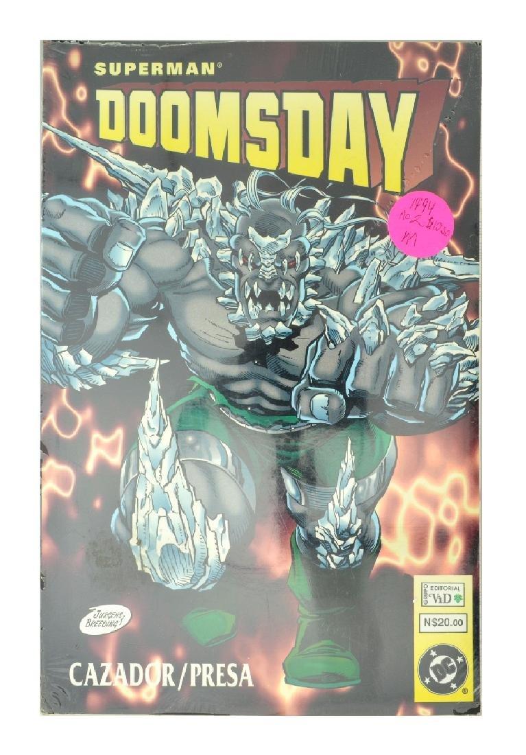 Superman Doomsday Hunter Prey (1994) Issue #1
