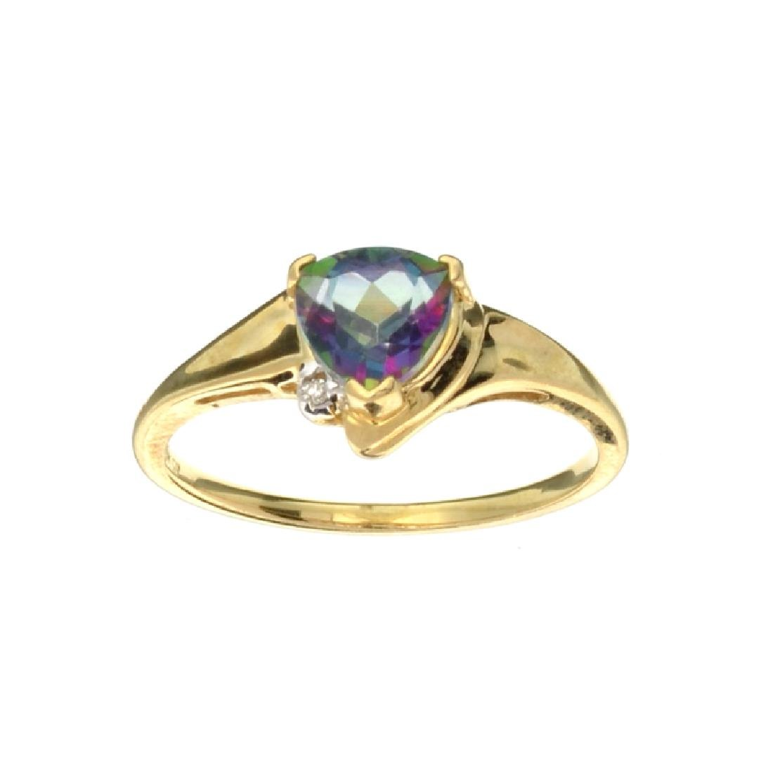 APP: 0.6k Fine Jewelry 10kt. Yellow/White Gold, 1.00CT