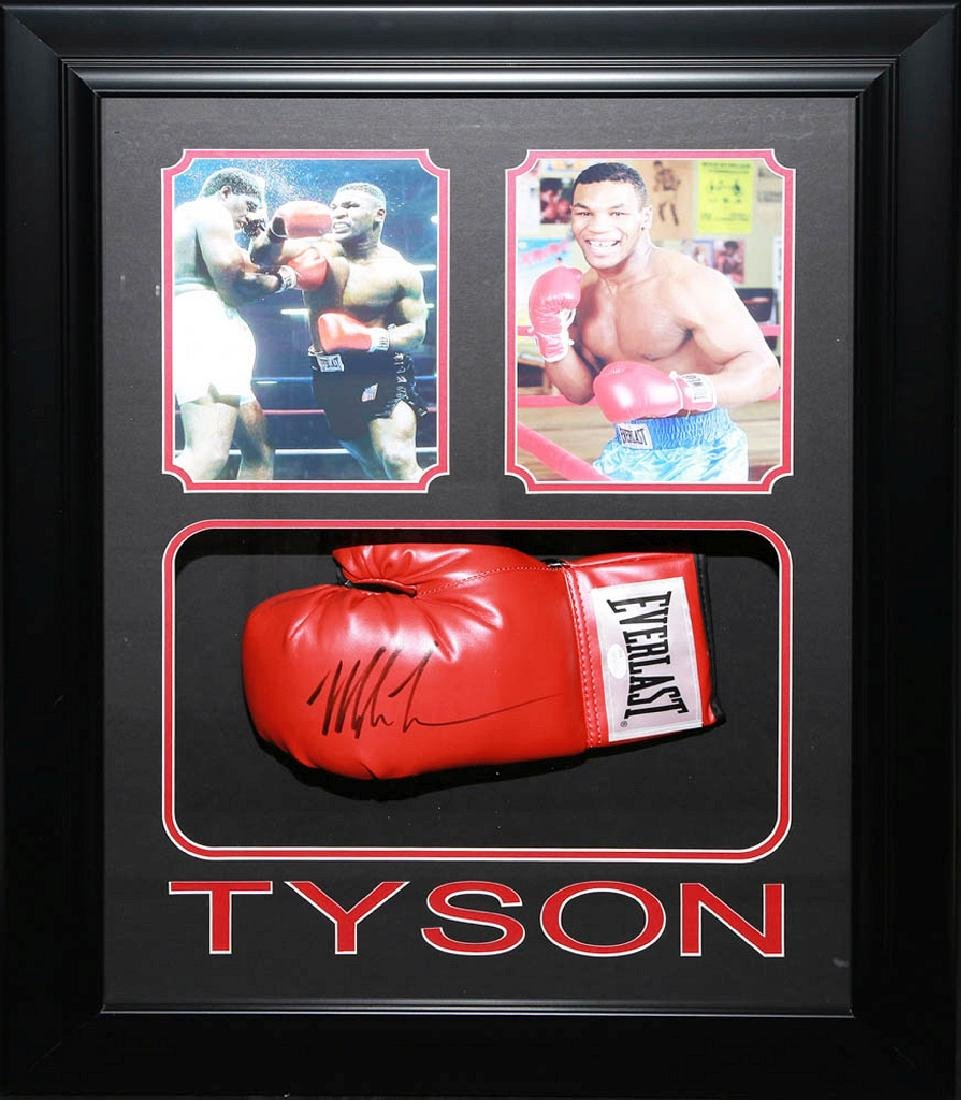Mike Tyson Collage with Glove