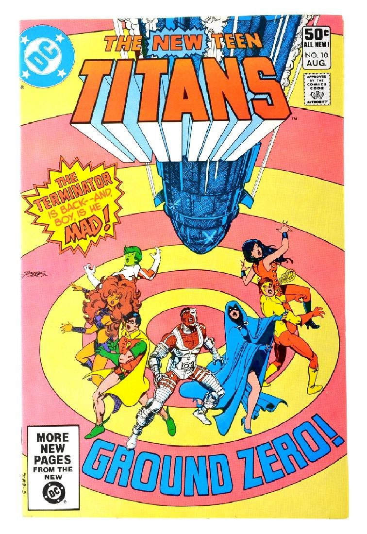 New Teen Titans (1980) Issue (Tales of ...) Issue  10