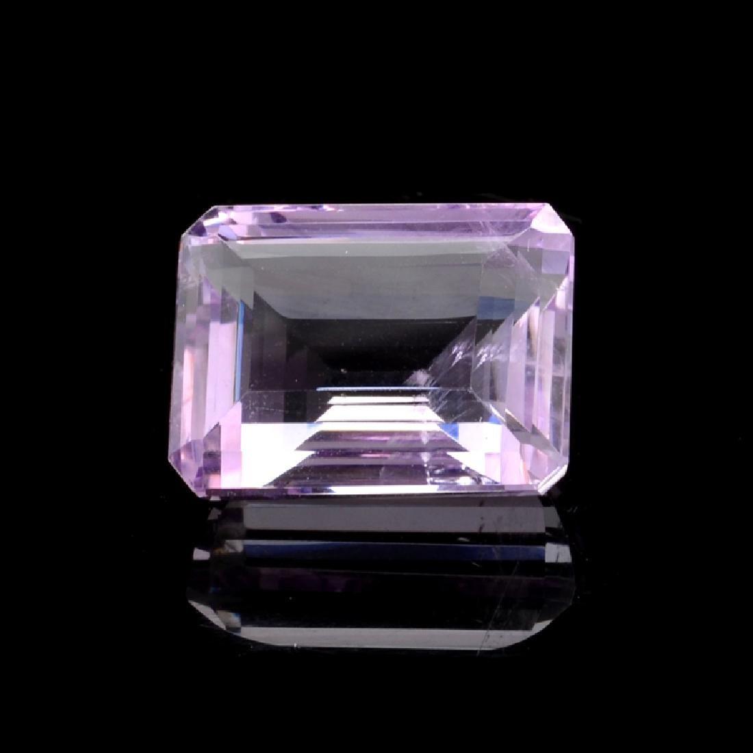 APP: 0.8k 25.76CT Rectangular Cut, Light Purple