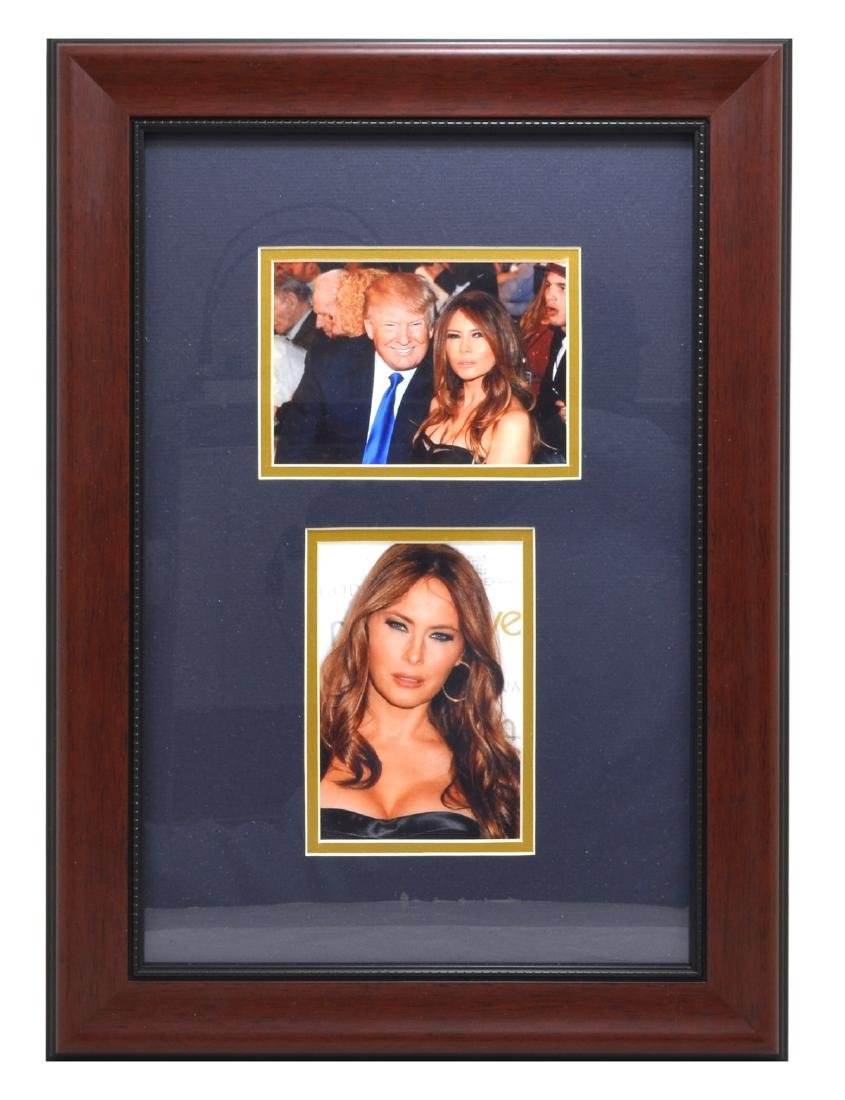 Rare Framed Photo Of President Trump And Wife