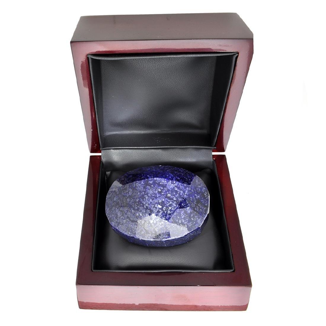 APP: 3.6k 1,443.40CT Oval Cut Blue Sapphire Gemstone