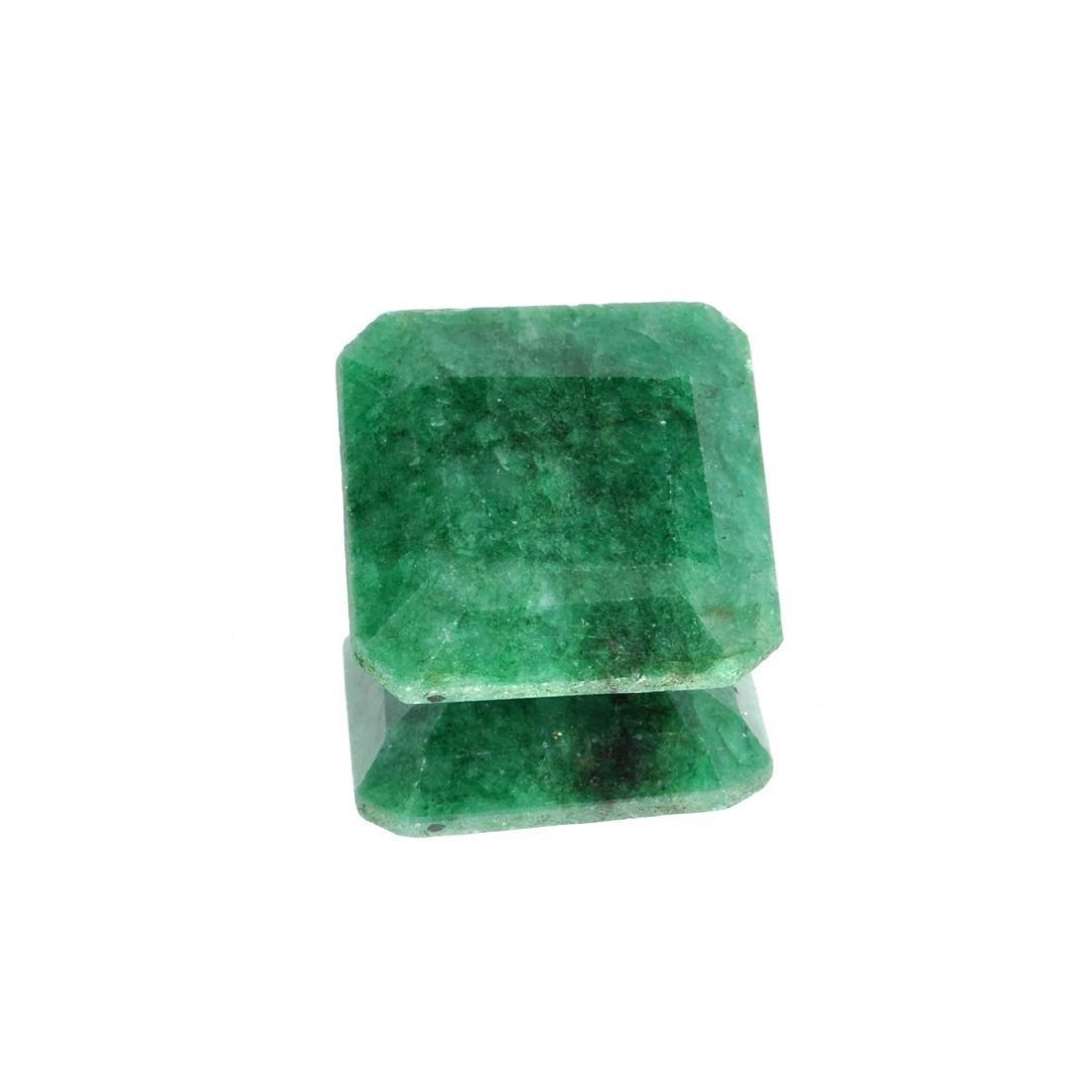 APP: 4.6k 60.87CT Square Cut Green Emerald Gemstone