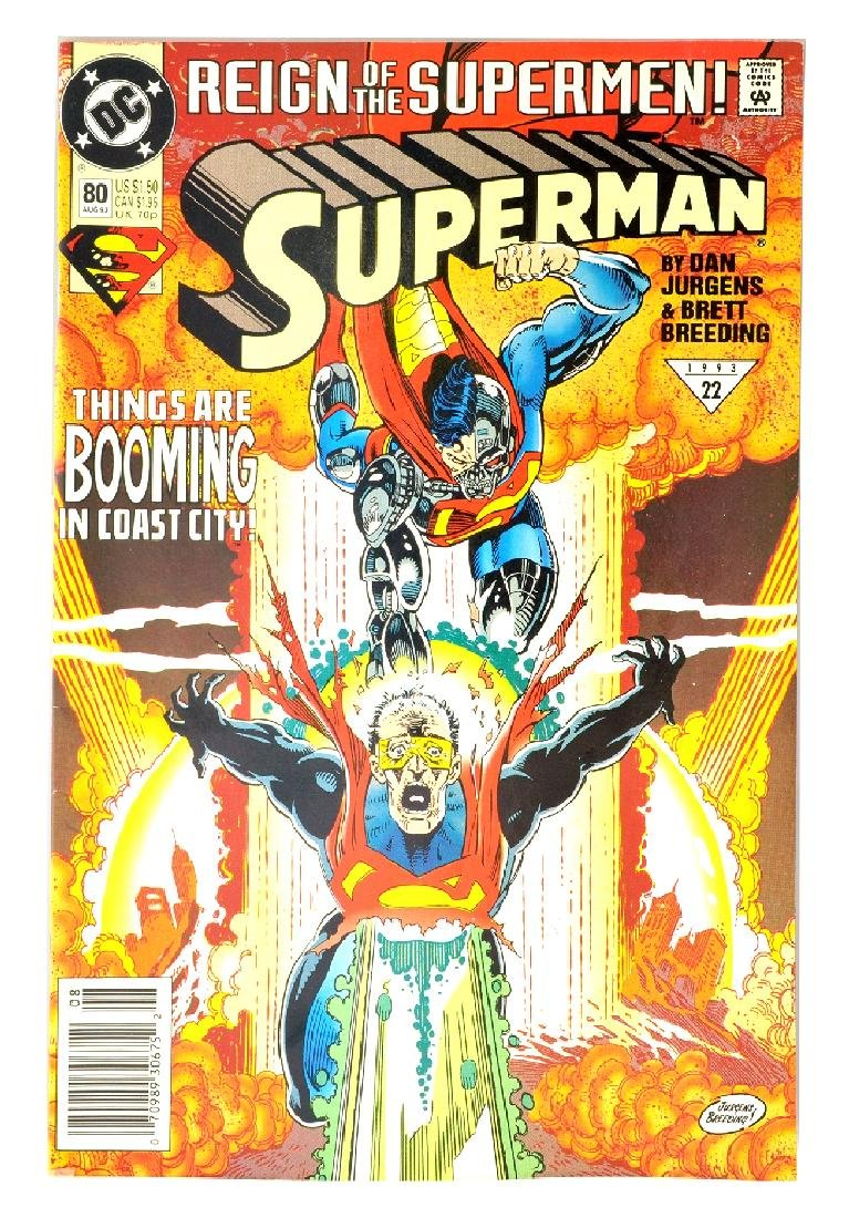 Superman (1987 2nd Series) Issue #80