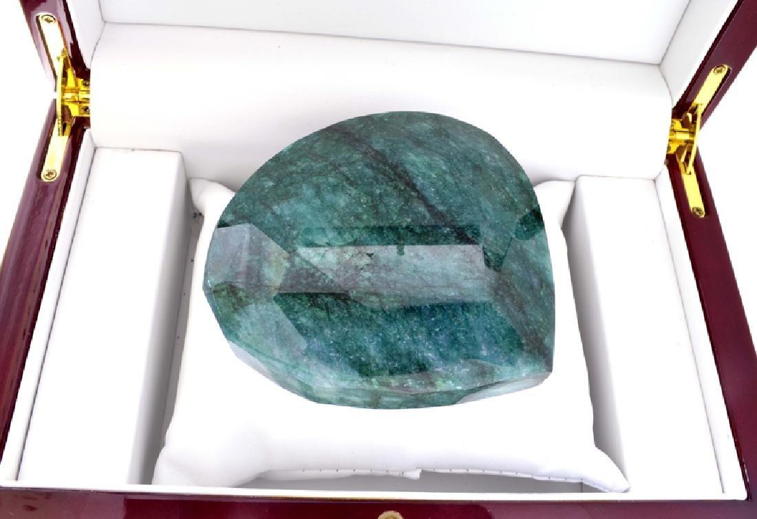 APP: 33.1k 1837.40CT Pear Cut Green Beryl Gemstone