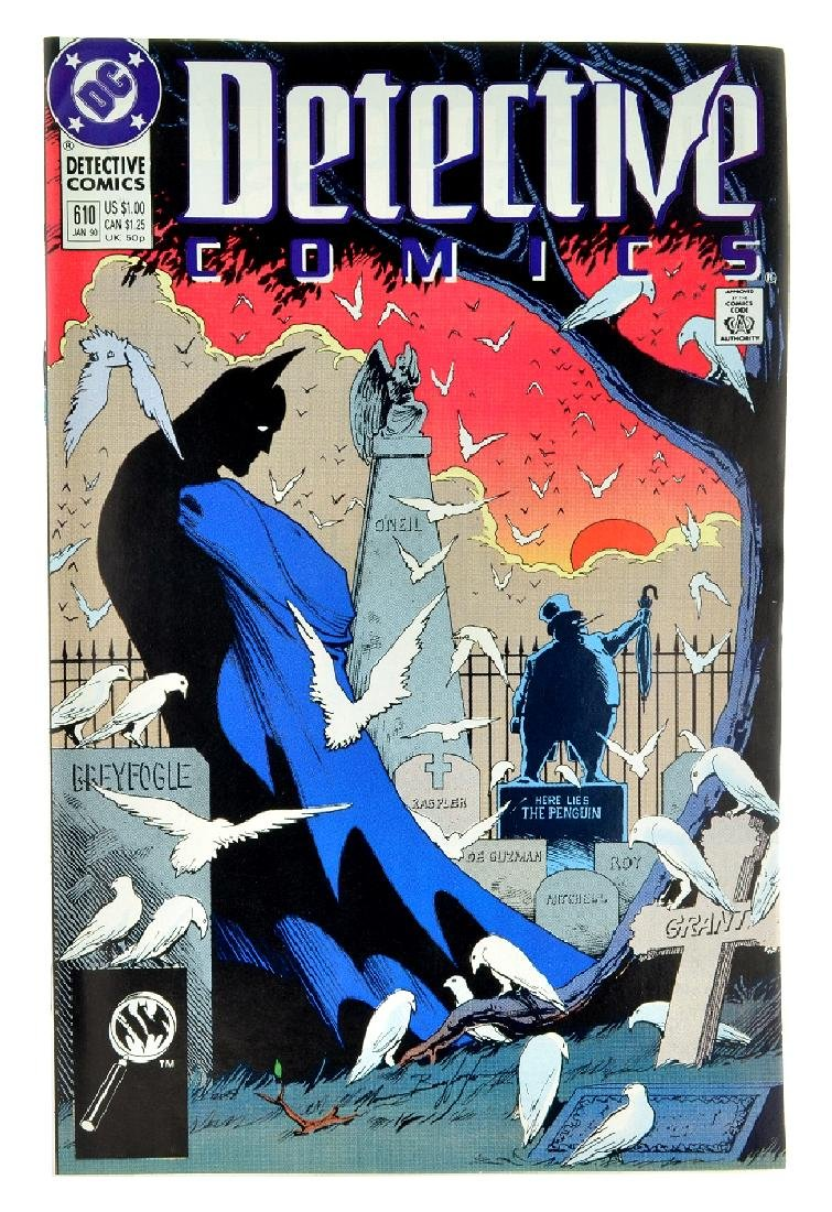 Detective Comics (1937 1st Series) Issue 610
