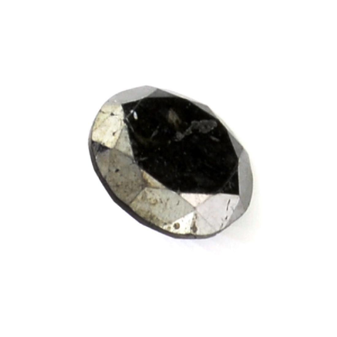 0.40CT Rare Black Diamond Gemstone