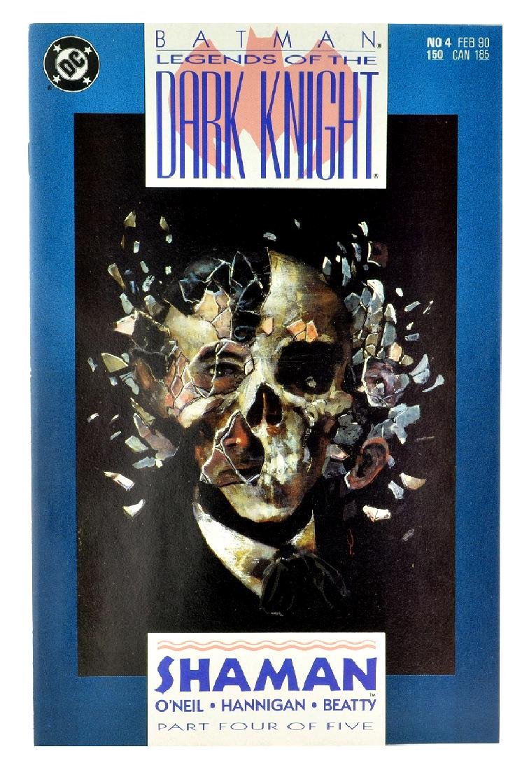 Batman Legends of the Dark Knight (1989) Issue 4