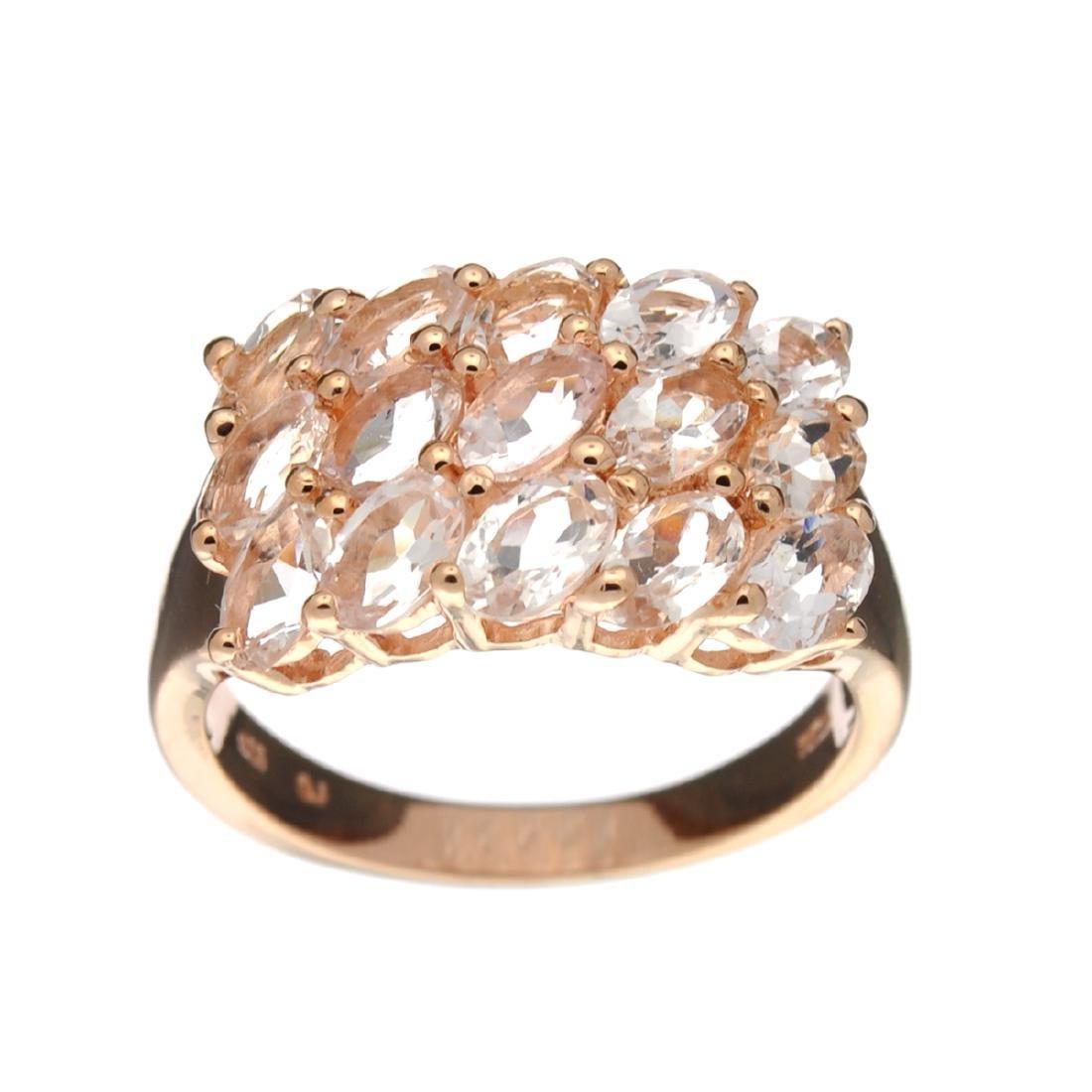 APP: 1.5k Fine Jewelry 2.60CT Oval Cut Morganite And