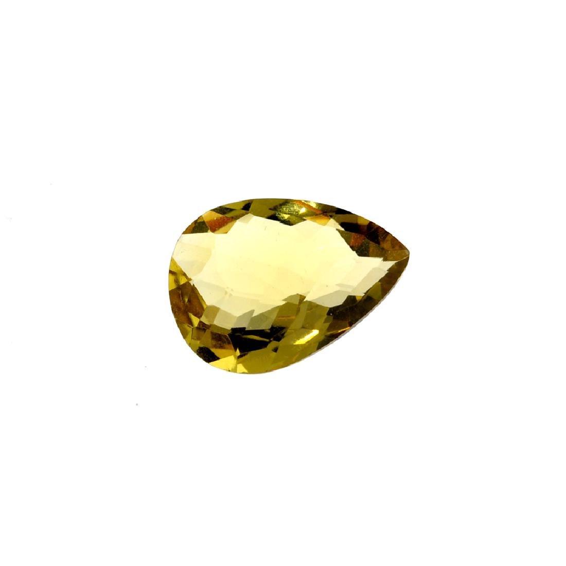 APP: 0.6k 12.41CT Pear Cut Citrine Gemstone