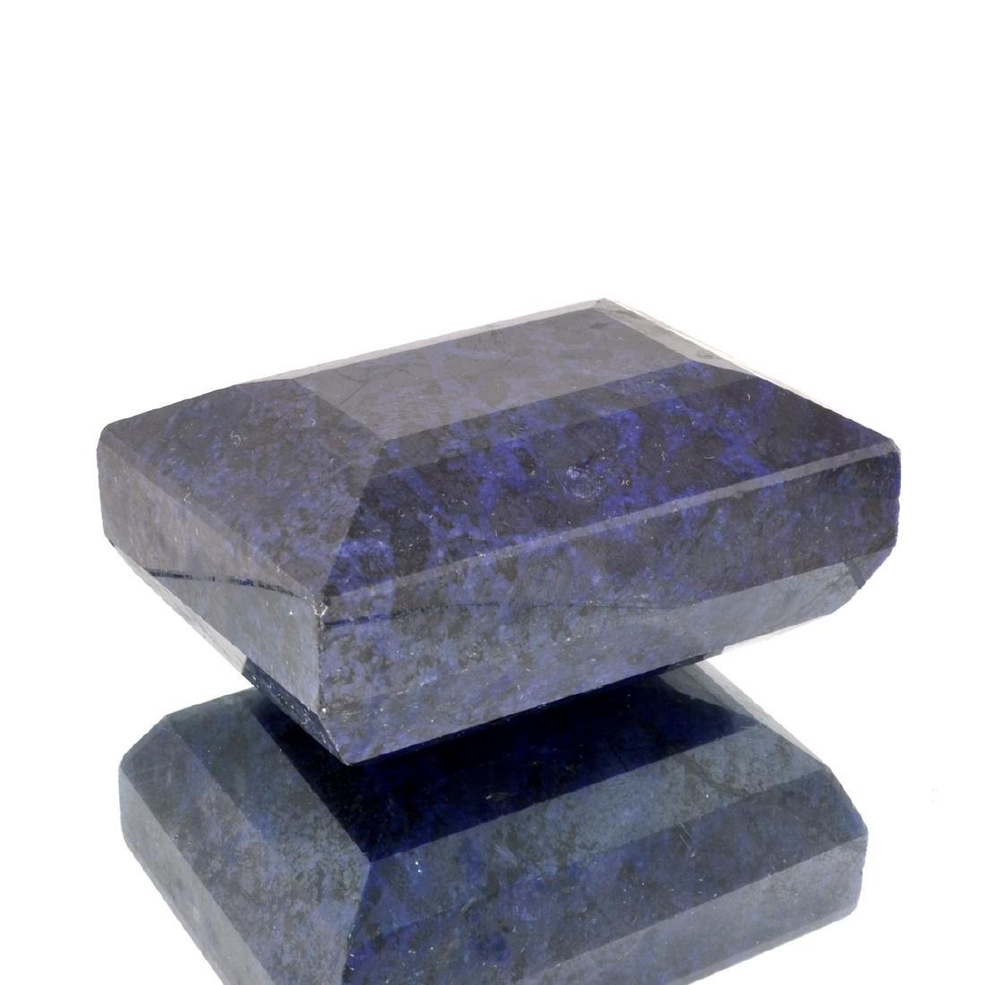 APP: 11.4k 3,809.50CT Rectangle Cut Blue Sapphire