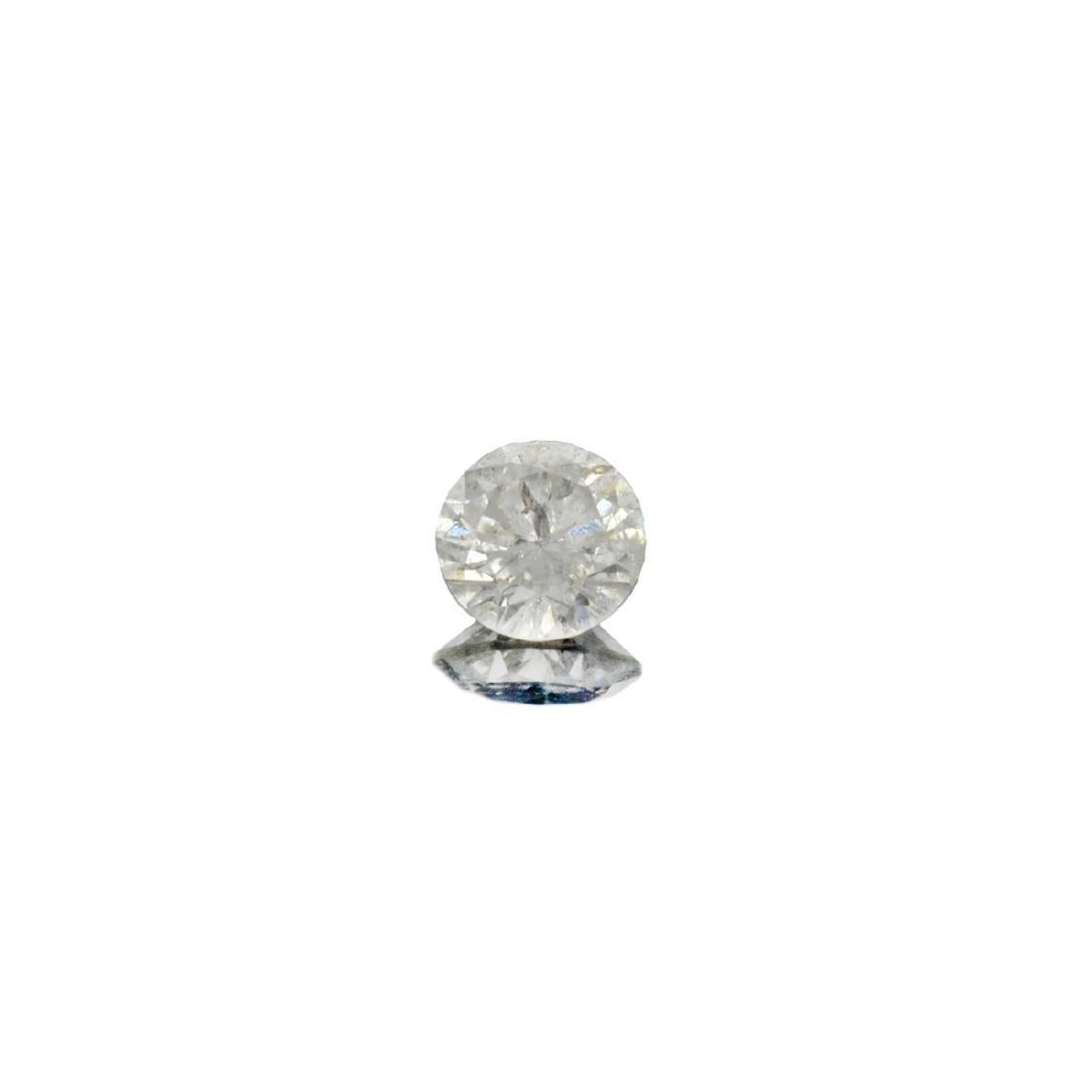 Fine Jewelry GIA Certified 0.16CT Round Brilliant Cut