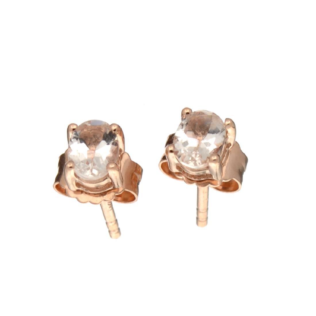 APP: 0.5k Fine Jewelry 0.90CT Oval Cut Morganite And