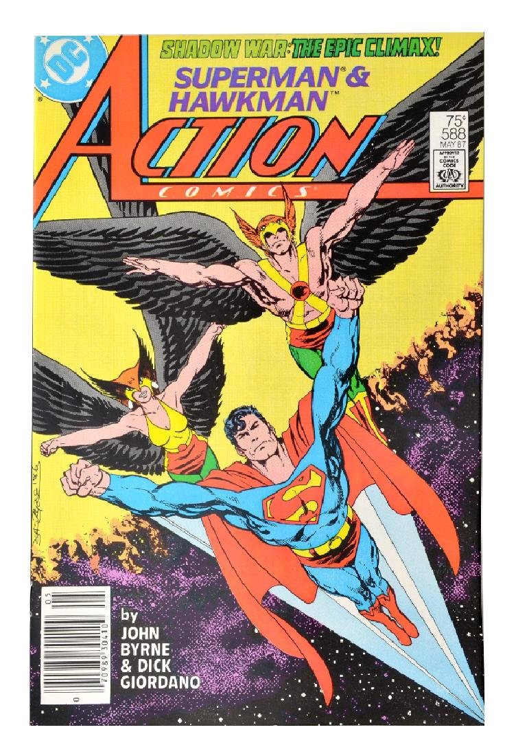 Action Comics (1938 DC) Issue #588