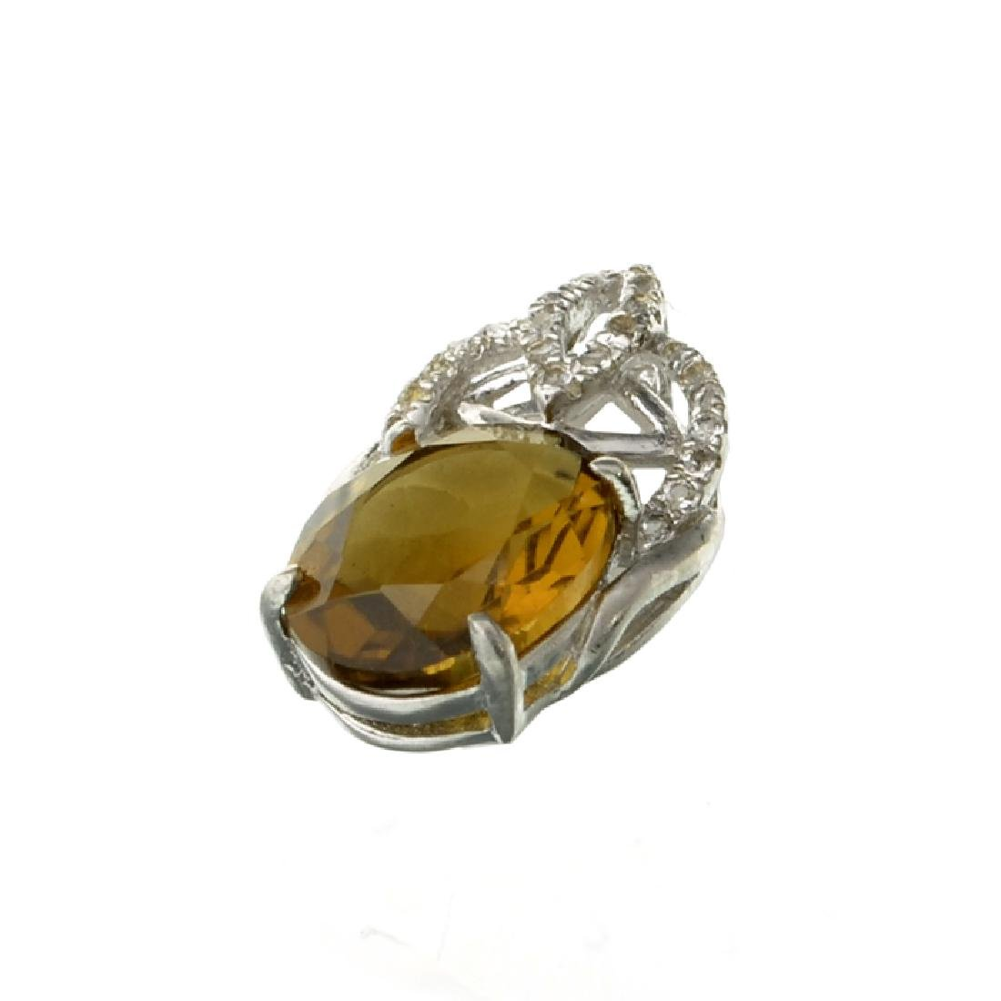APP: 0.6k Fine Jewerly 3.00CT Oval Cut Citrine And