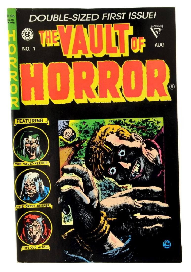 Vault of Horror (1990 Gladstone) Issue 1