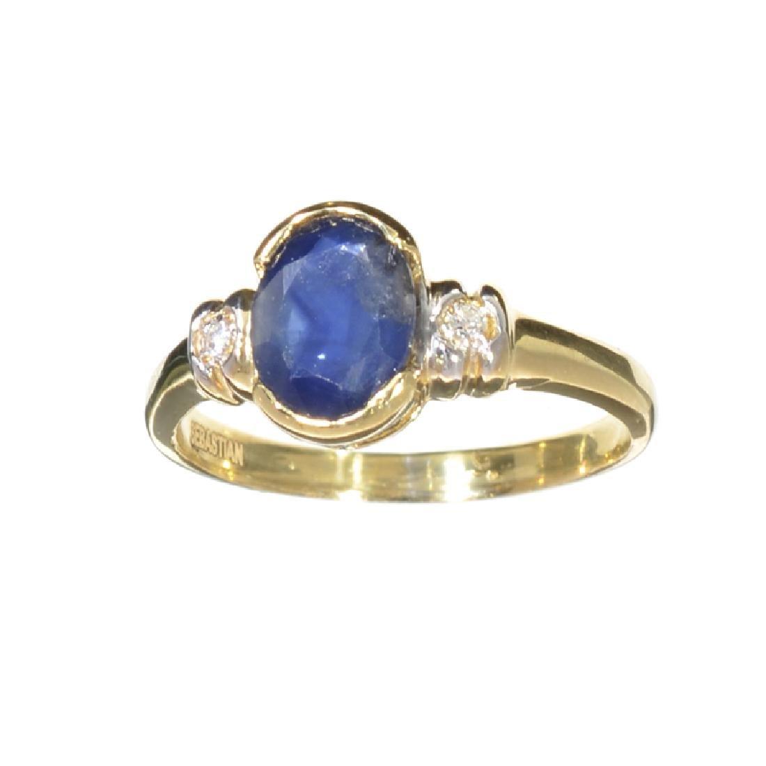 APP: 1k Fine Jewelry Designer Sebastian 14KT Gold,
