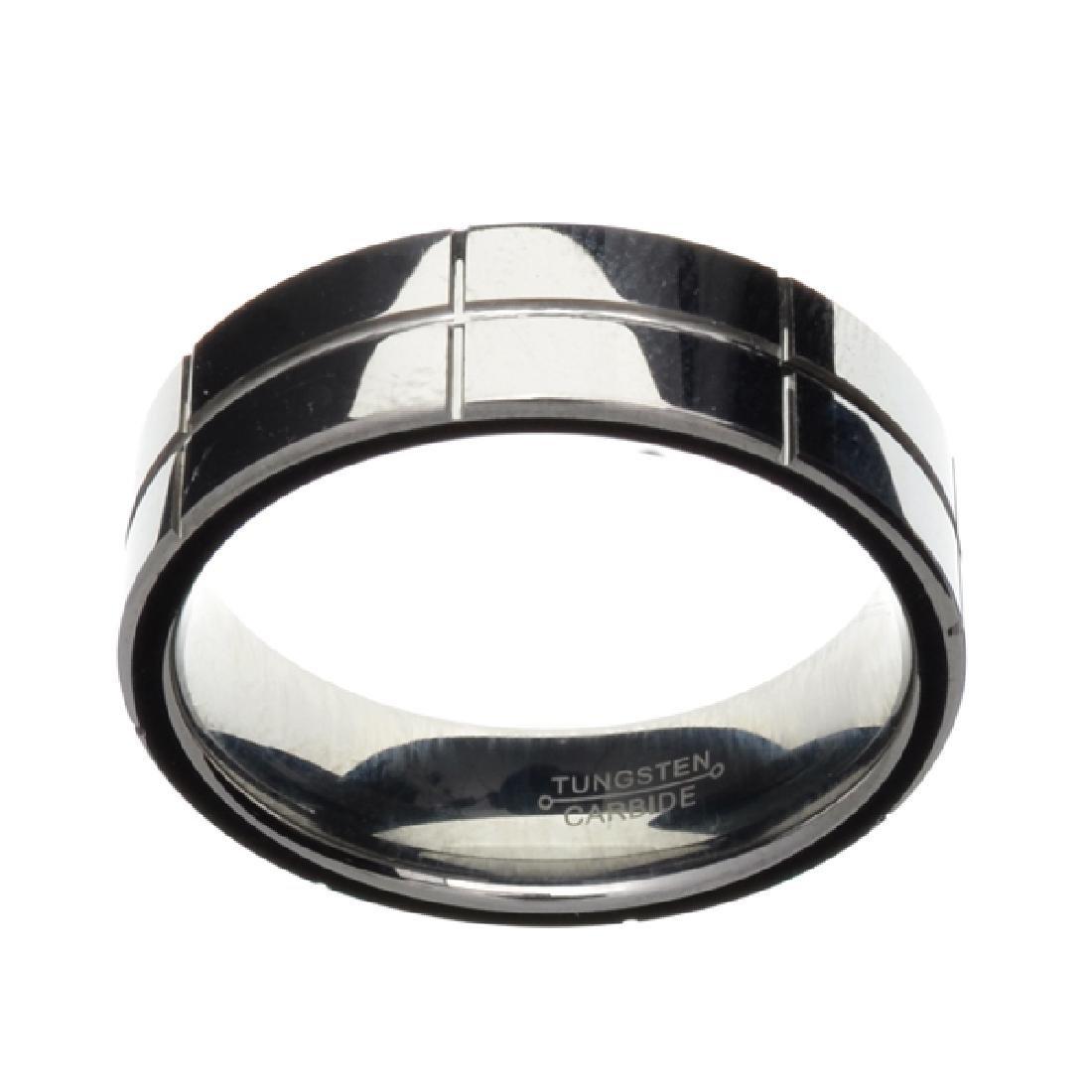 Rare Tungsten Size 14 Ring