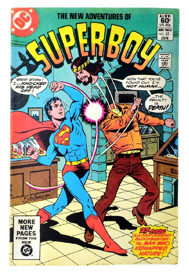 New Adventures of Superboy (1980 DC) Issue 25