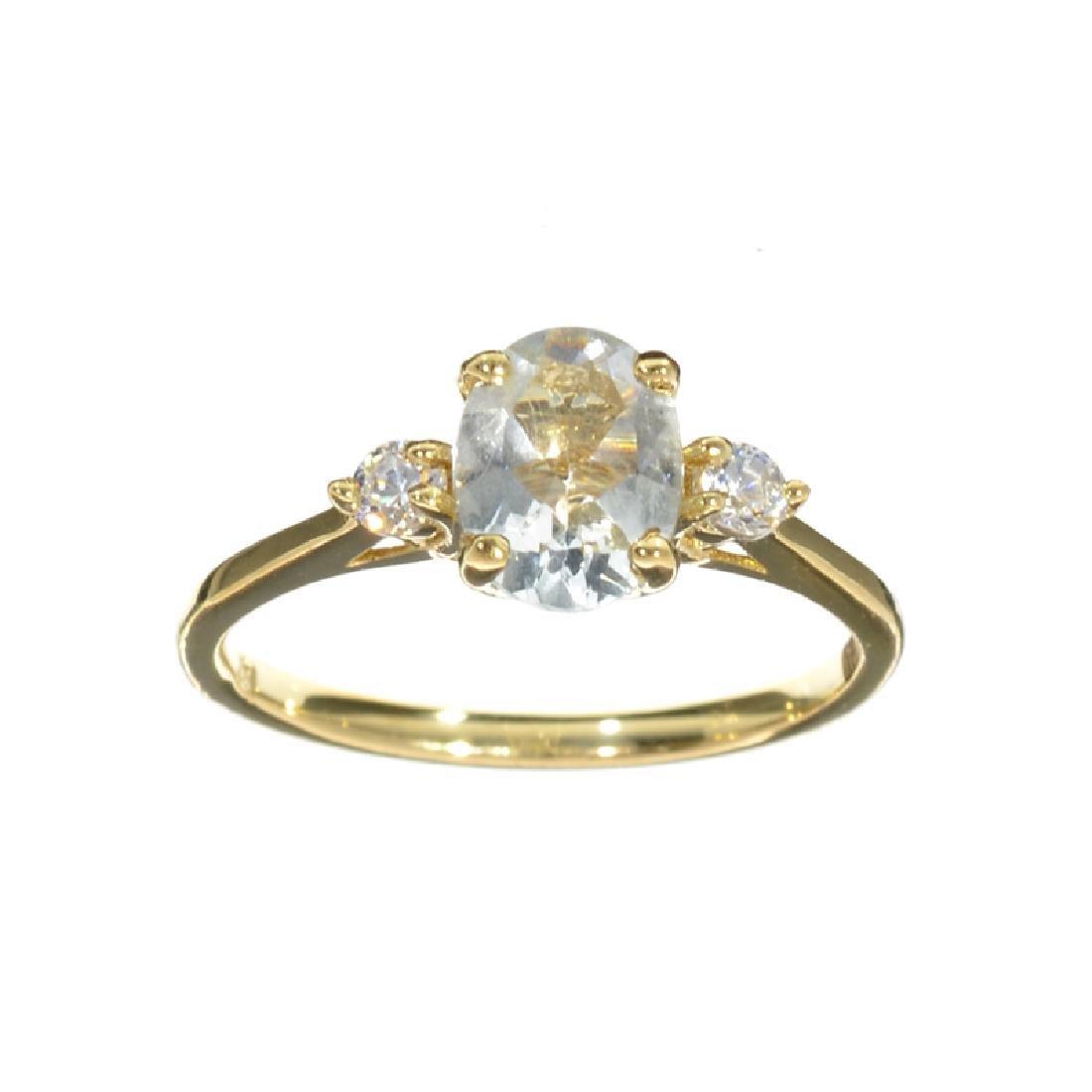 APP: 1.1k Fine Jewelry 14KT Gold, 1.20CT Blue