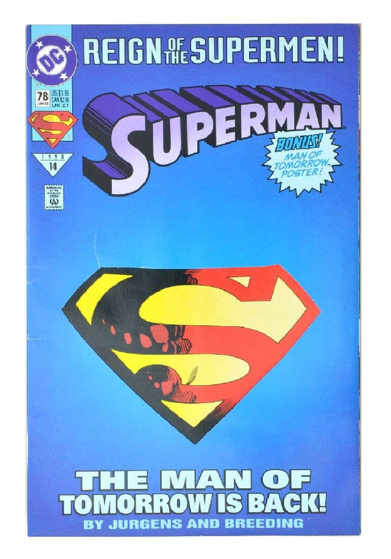 Superman (1987 2nd Series) Issue #78