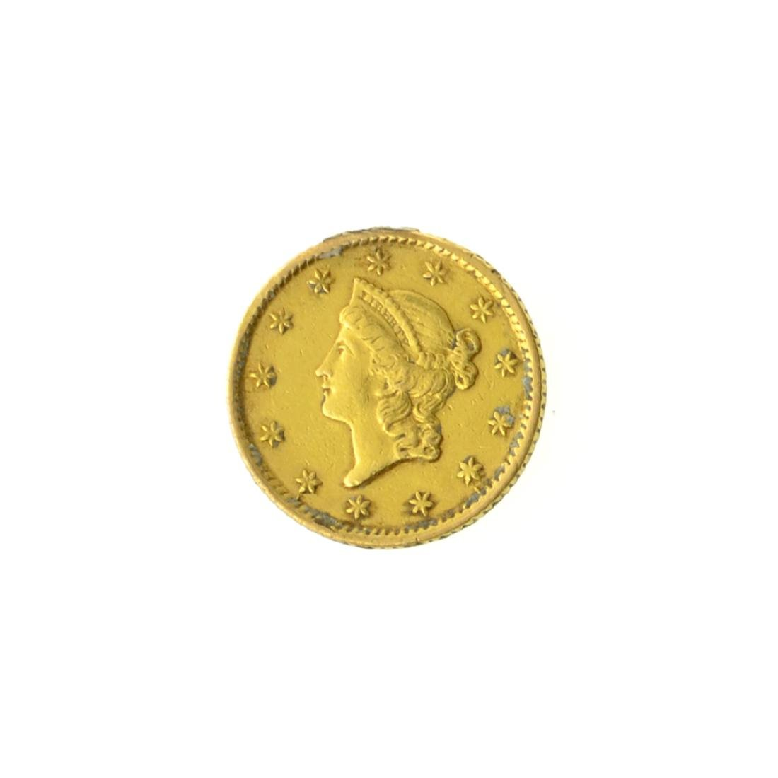 *1854 $1 U.S. Liberty Head Gold Coin (JG-MRT)
