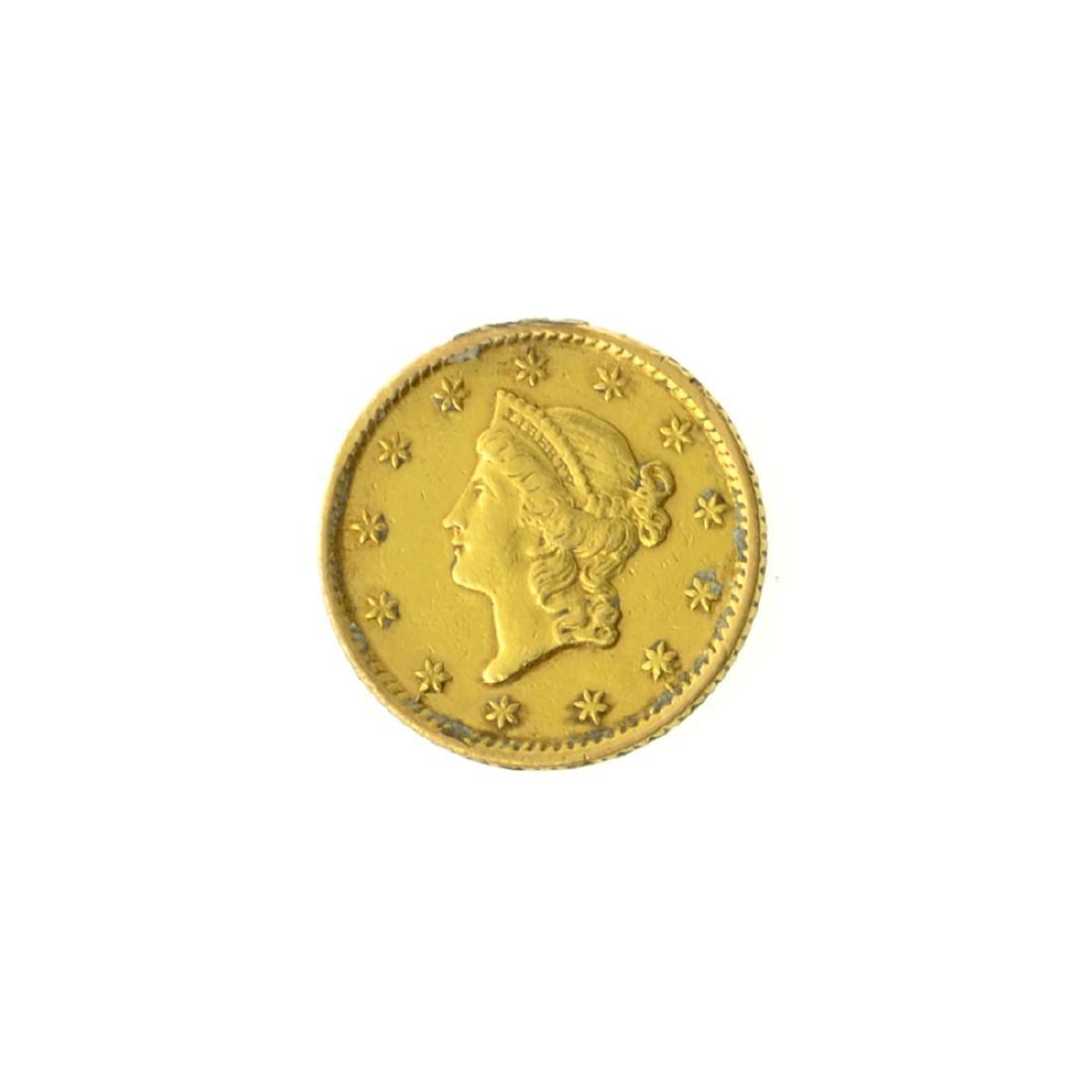 *1854 $1 U.S. Liberty Head Gold Coin (JG-MRT)