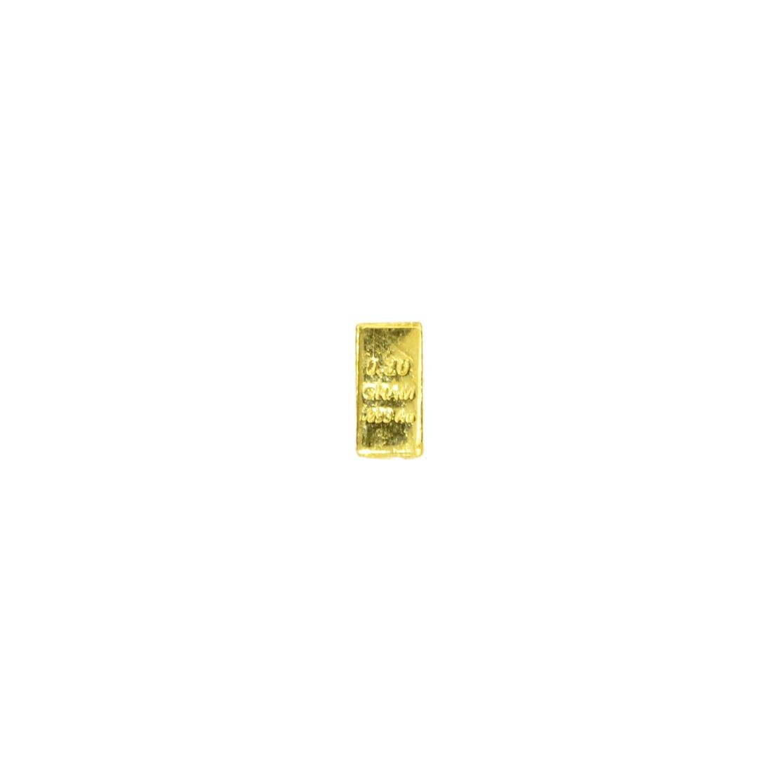 0.10 (1/10) Gram .999 Fine Gold Bar - 2