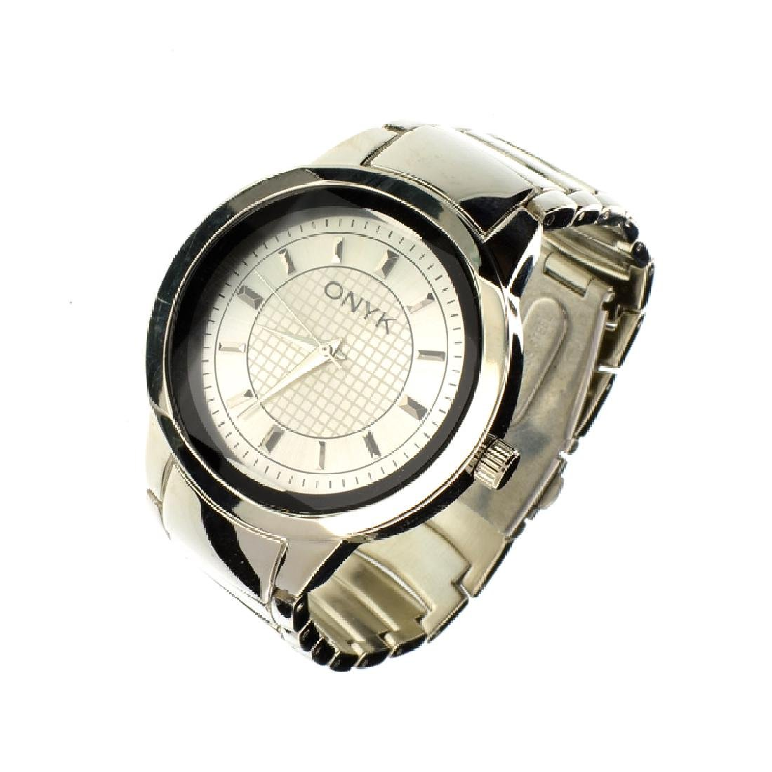 New Men's Onyk Stainless Steel Back Water Resistant