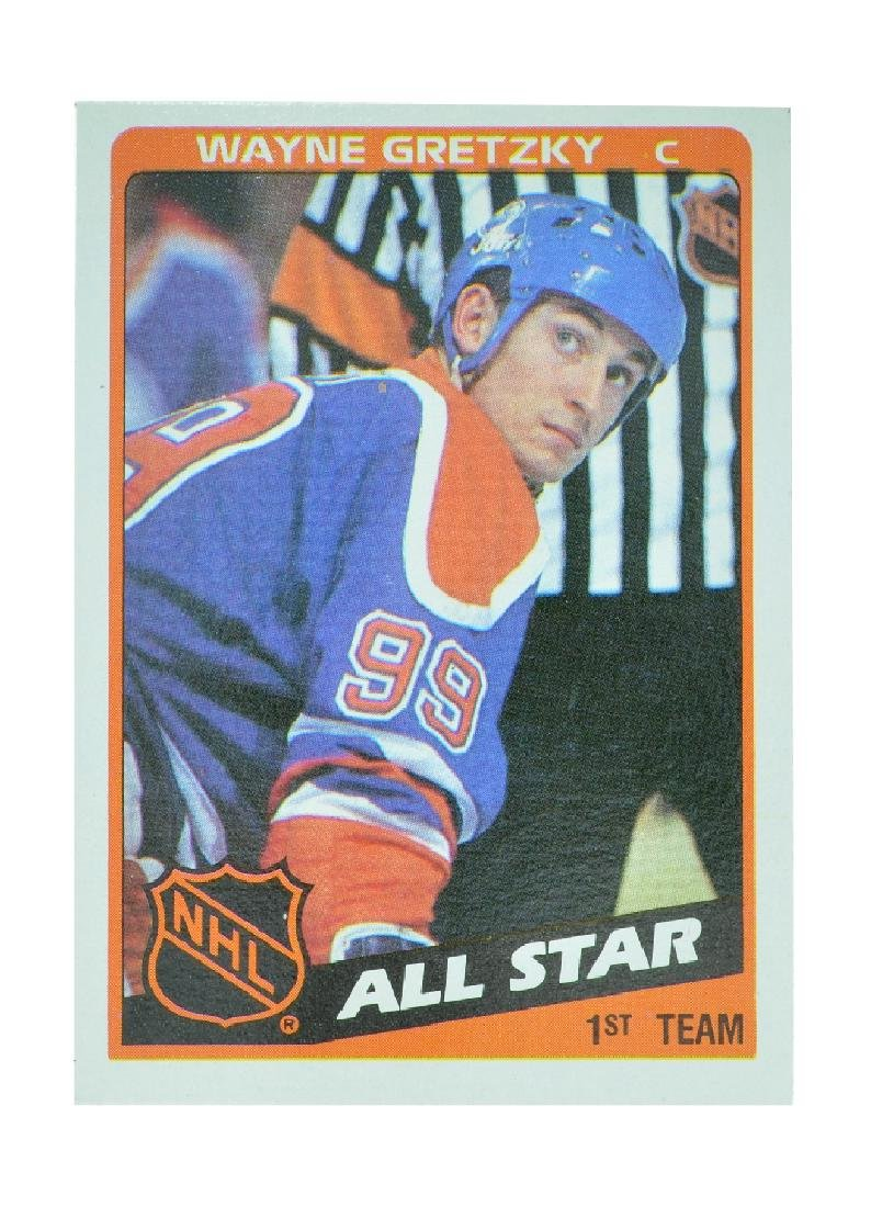 Extremely Rare NHL 1984 All-Star Wayne Gretzky Card