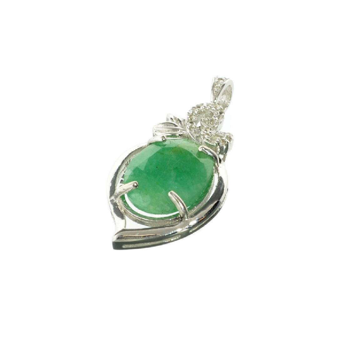 APP: 0.6k Fine Jewelry 7.00CT Oval Cut Green Beryl And