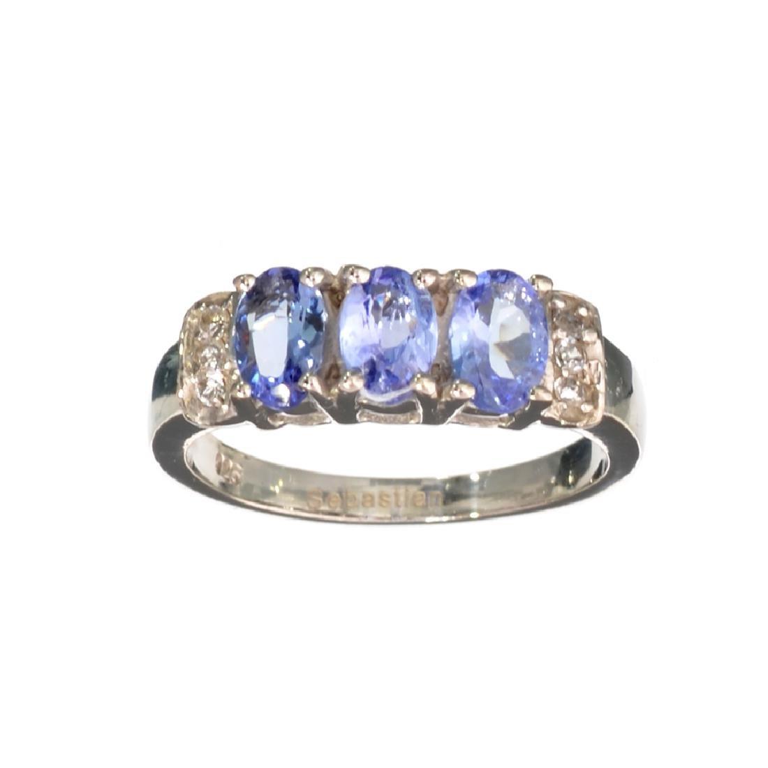 APP: 1.4k Fine Jewelry 1.40CT Oval Cut Tanzanite And