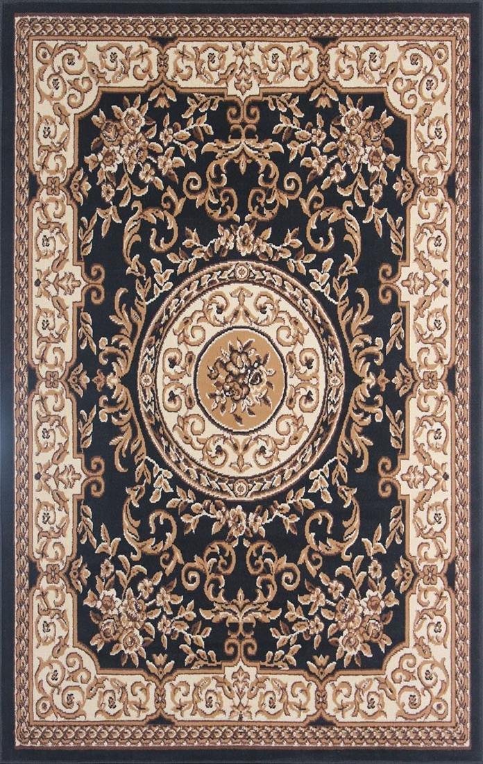 Gorgeous 4x6 Emirates (1525) Black&Brown Rug High