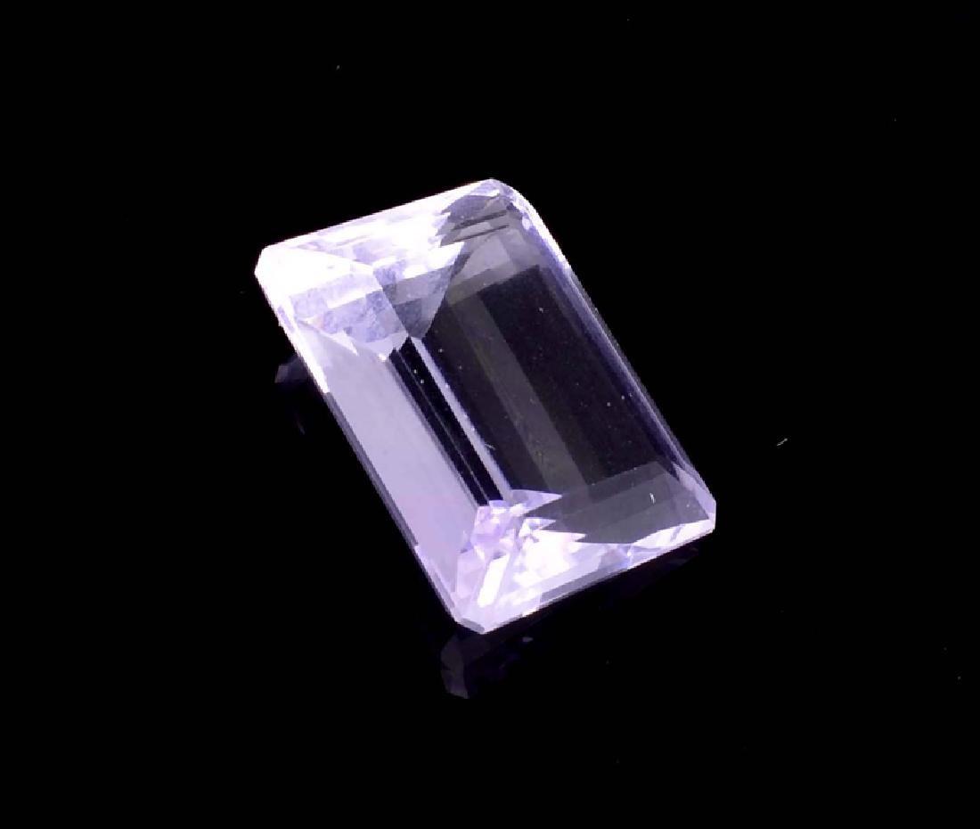 APP: 3.1k 44.00CT Emerald Cut Amethyst Quartz Gemstone