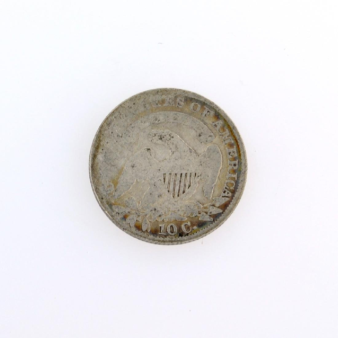 1834 Capped Bust Dime Coin - 2