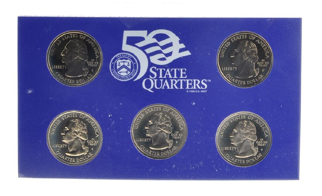 1999 United States Mint Proof Coin Set