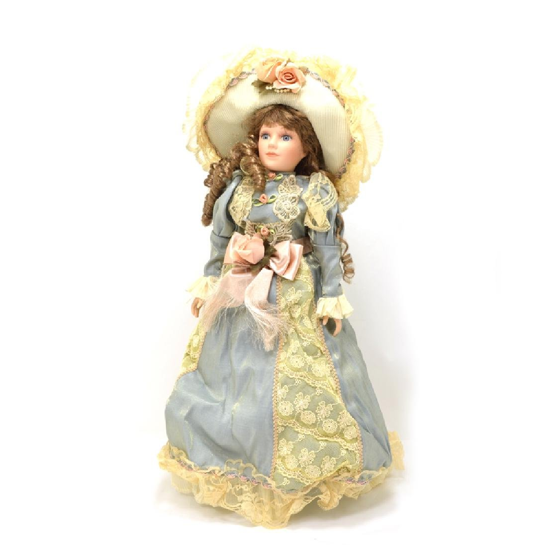 18 Inch Handpainted Porcelain Doll