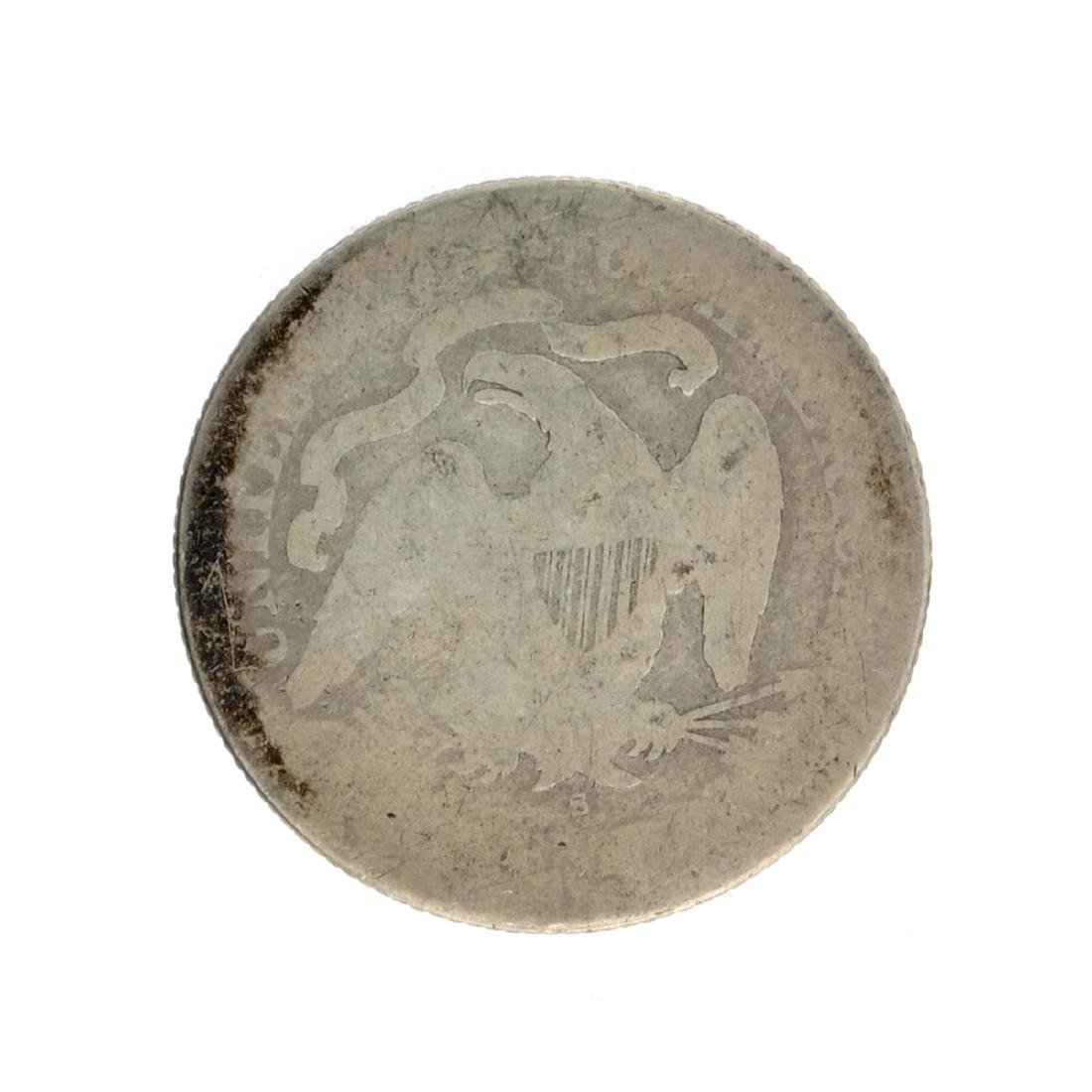 1876-S Liberty Seated Quarter Dollar Coin - 2
