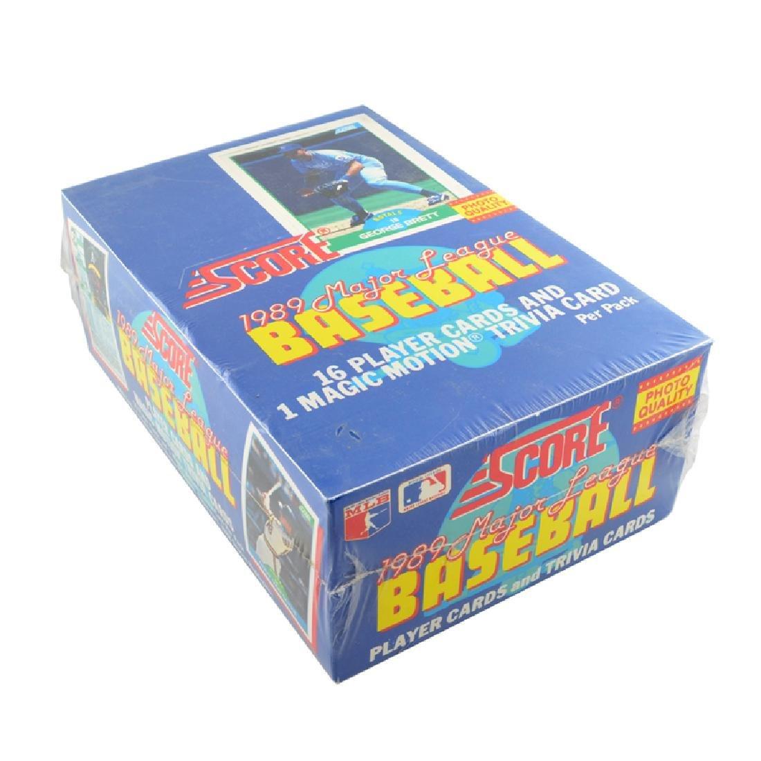 1989  Box of Score Major League Baseball Cards 36ct