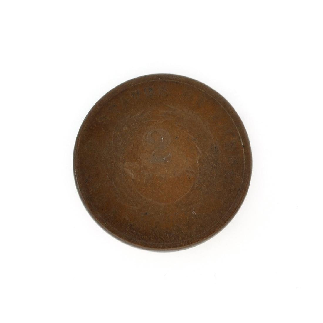 Rare 1864 Two-Cents Piece Coin - 2