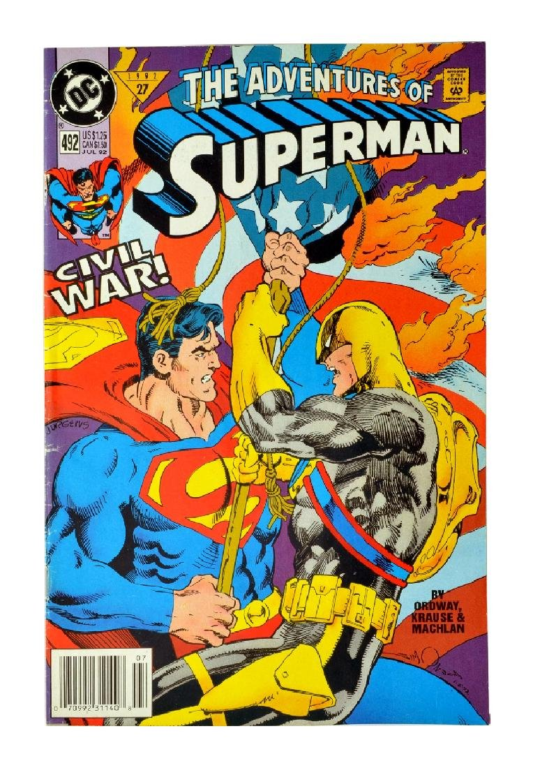 Adventures of Superman (1987) Issue #492