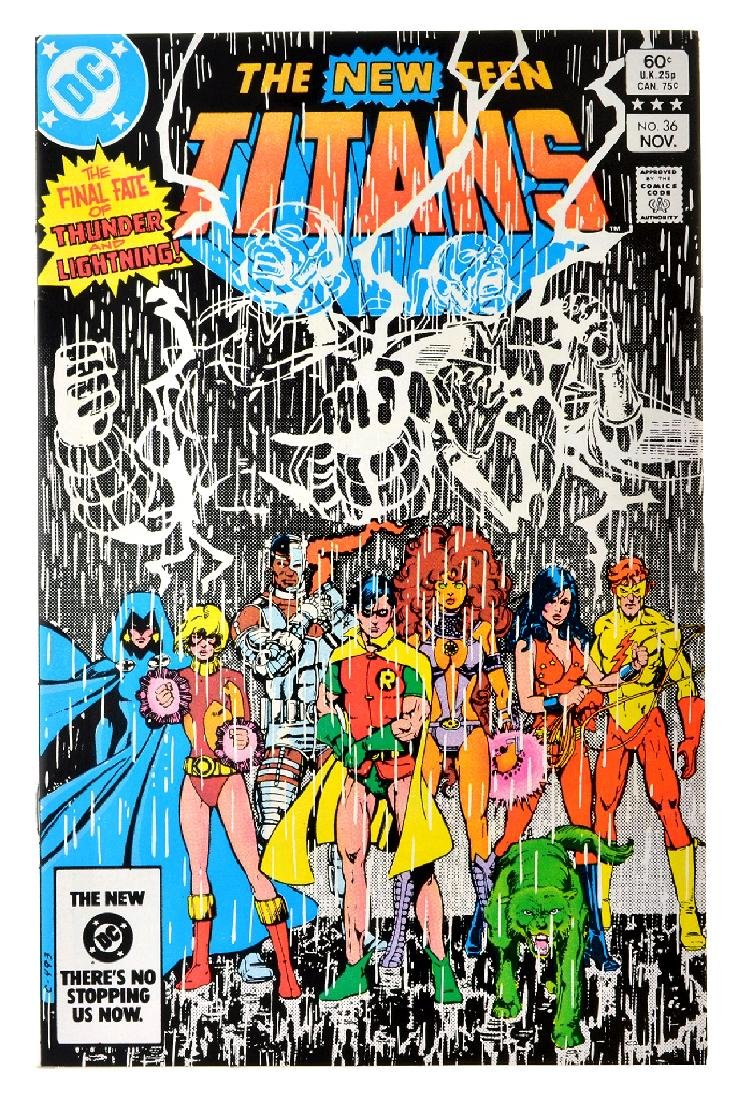 New Teen Titans (1980) Issue (Tales of ...) Issue  36