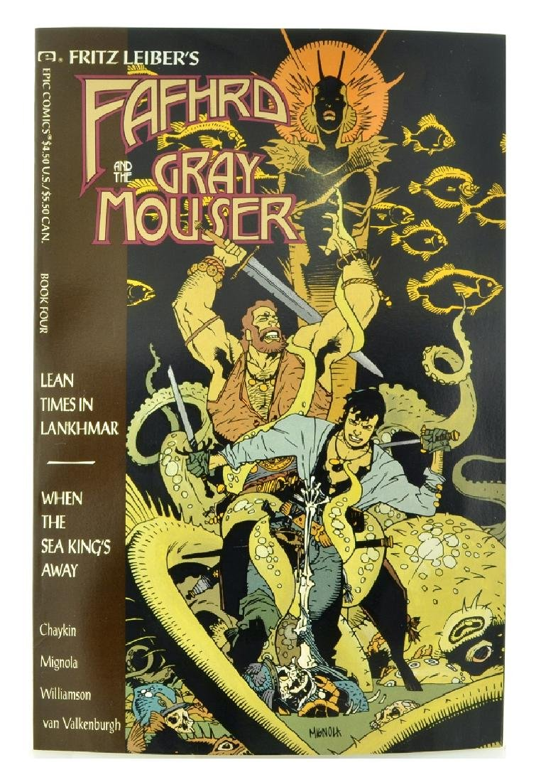 Fafhrd and the Gray Mouser (1990 Marvel) Issue 4