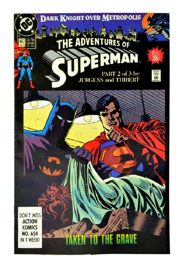Adventures of Superman (1987) Issue #467