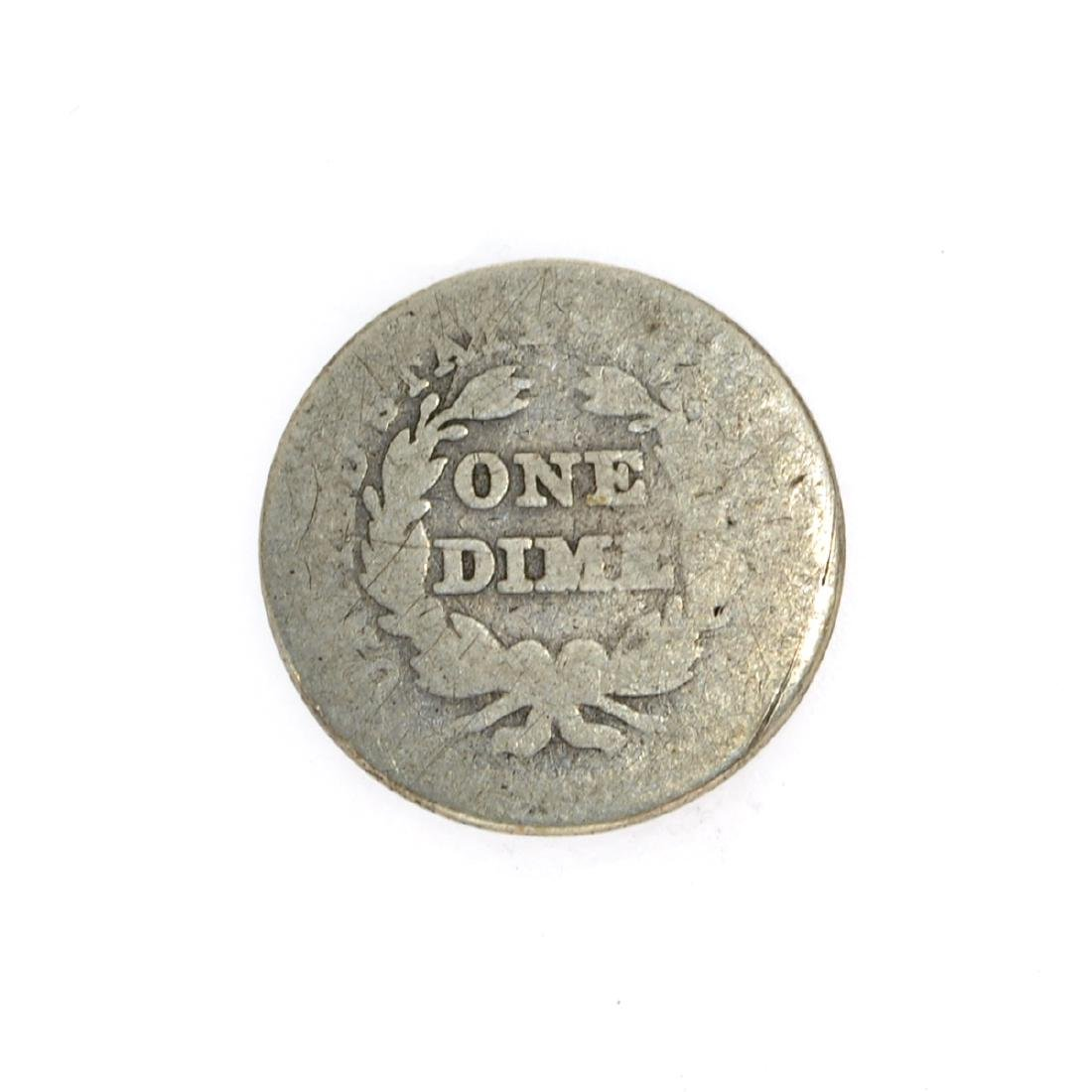 Rare 1838 Liberty Seated Dime Coin - 2