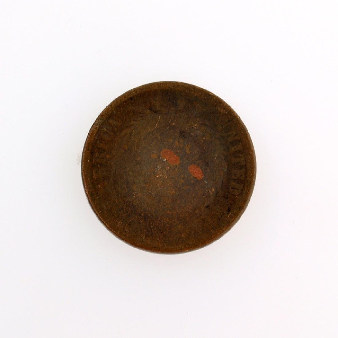 1865 Two-Cent Piece Coin - 2