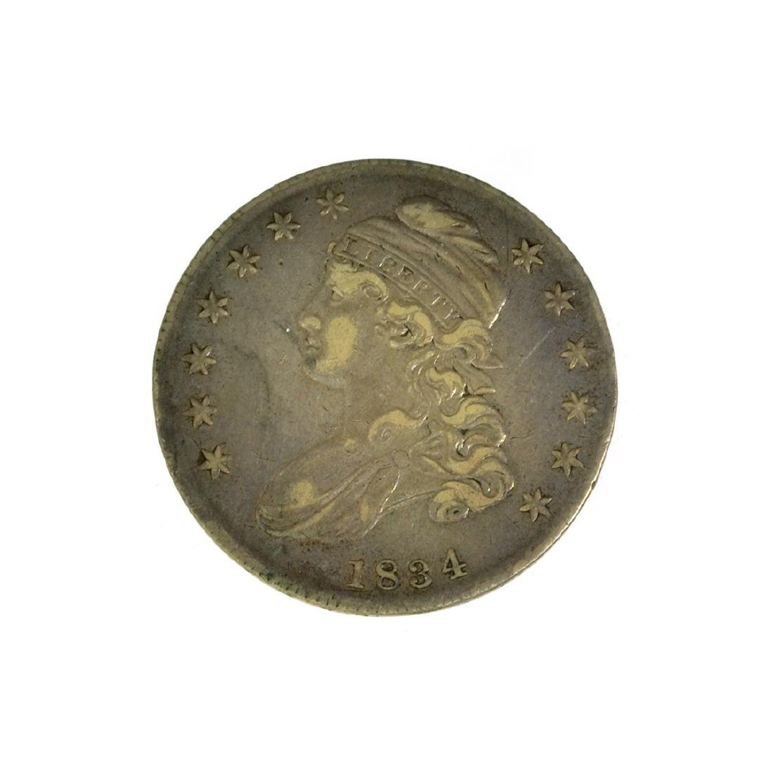 *1834 Capped Bust Half Dollar Coin (JG)