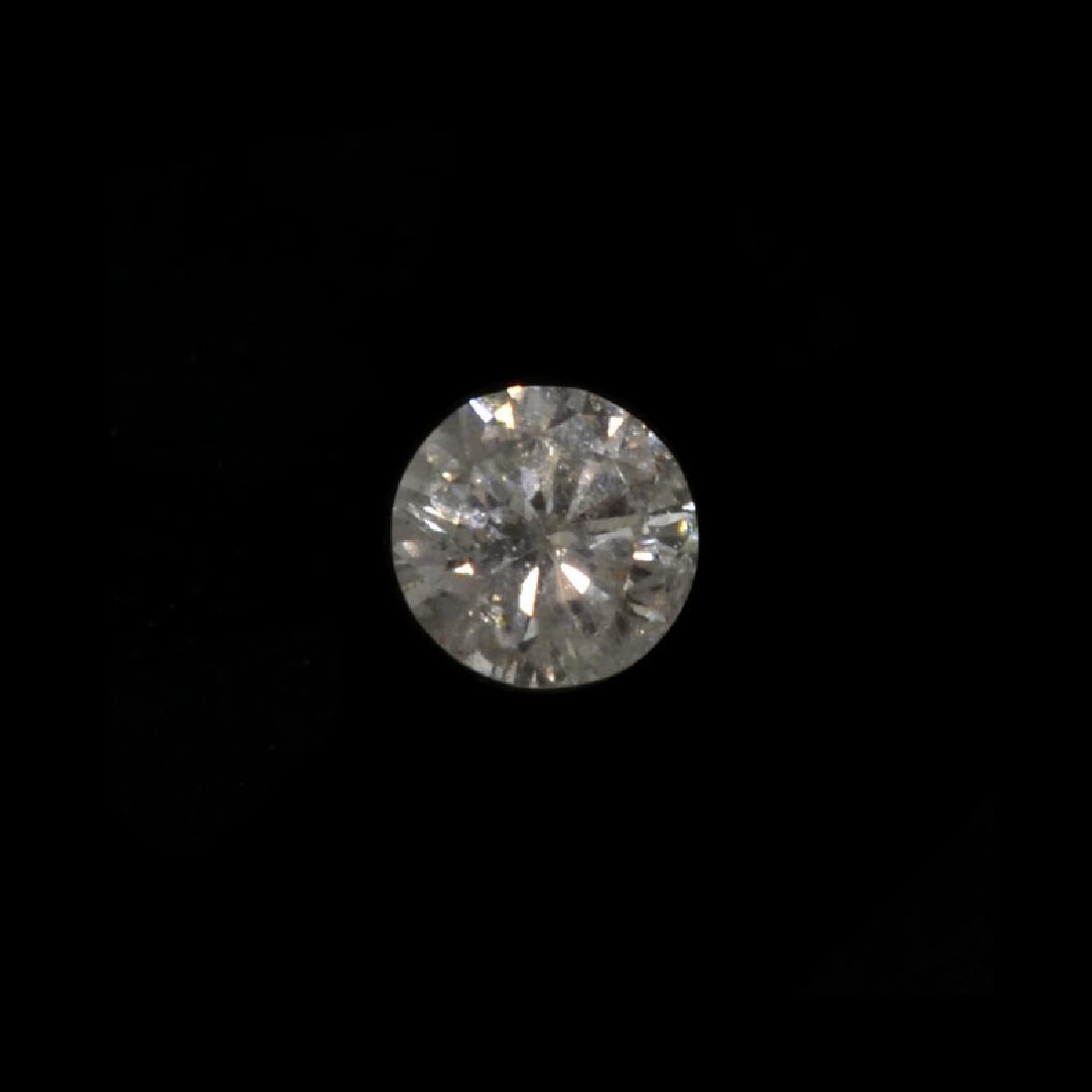 Fine Jewelry GIA Certified 0.20CT Round Brilliant Cut